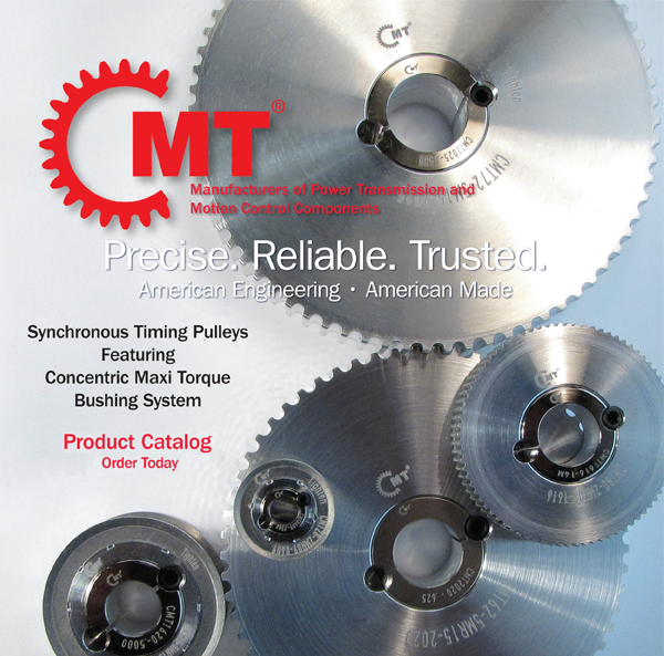 Catalog Timing Pulleys with CMT Bushing System