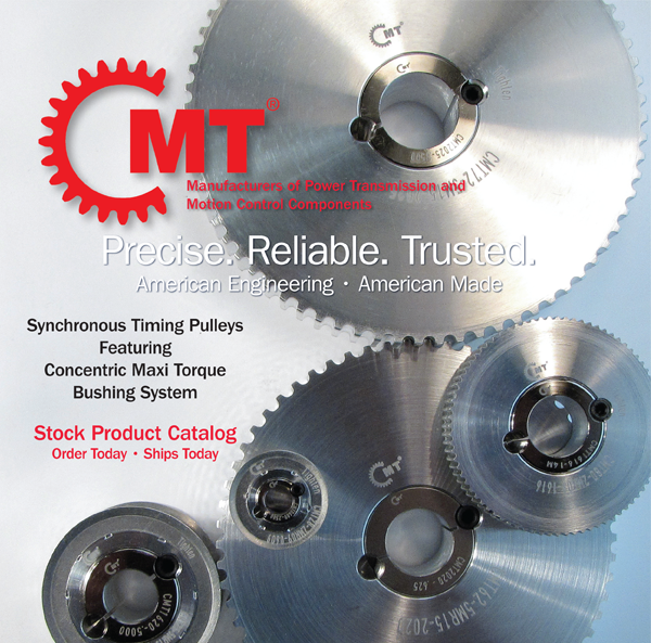 Catalog In Stock Timing Pulleys  with CMT Bushing System